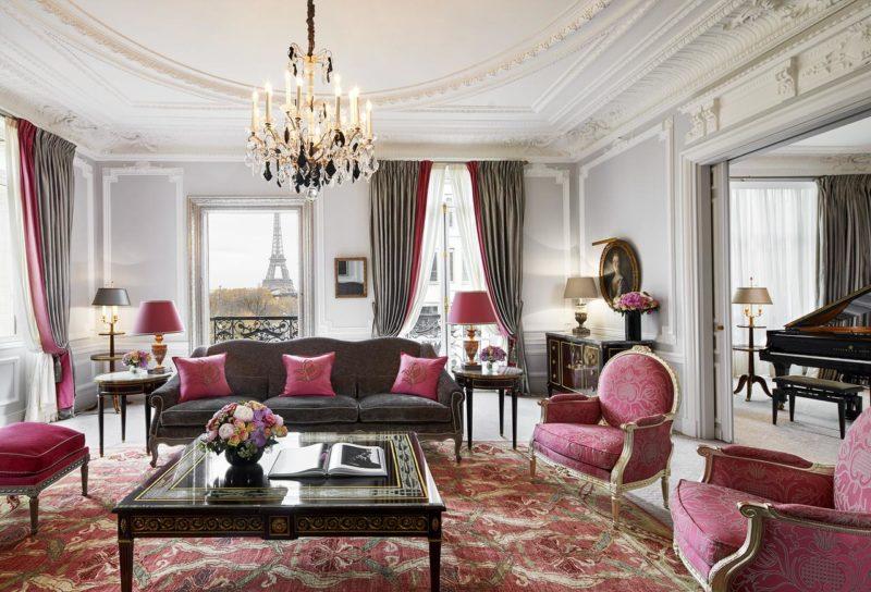 Onde se hospedar em Paris: Quarto do Hôtel Plaza Athénée.