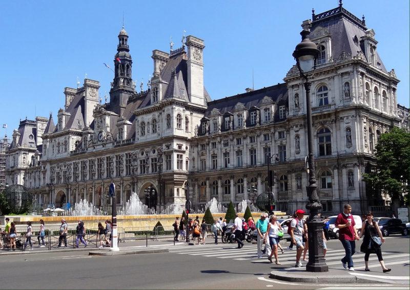 Dicas de Paris: Hotel de Vill, a prefeitura da cidade.