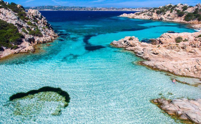 Dicas Sardenha: o impressionante mar de Cabrera, em La Maddalena.