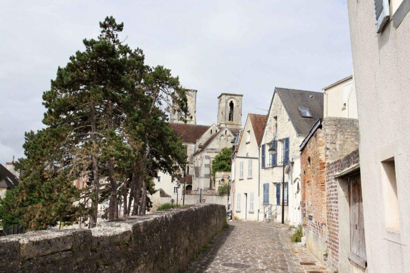 França medieval: ruas de Laon.