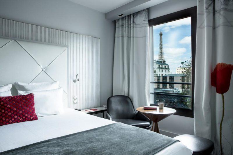 Hotéis em Paris: Vista do Le Parisis.