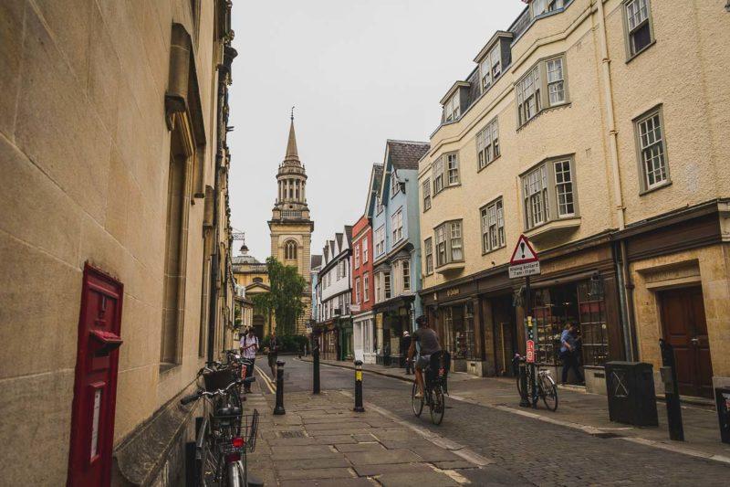 Mais ruas charmosinhas de Oxford.