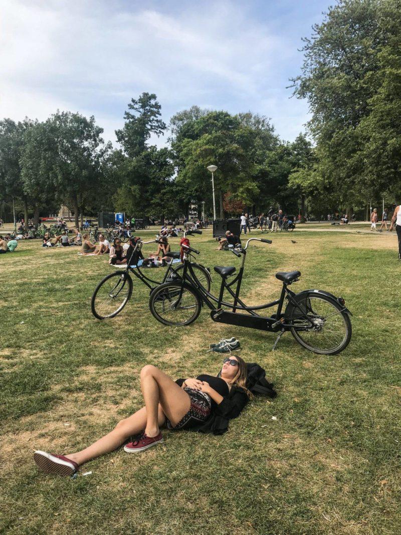 Atrações em Amsterdã: Vondelpark.