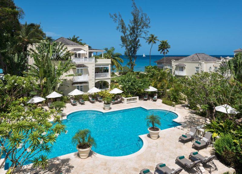 Onde ficar em Barbados: Estrutura do Coral Reef Club.