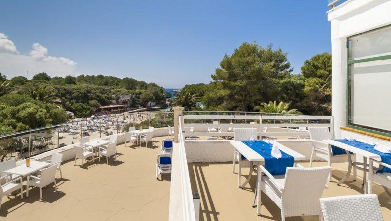 Menorca dicas: Vista do Globales Cala'n Blanes.