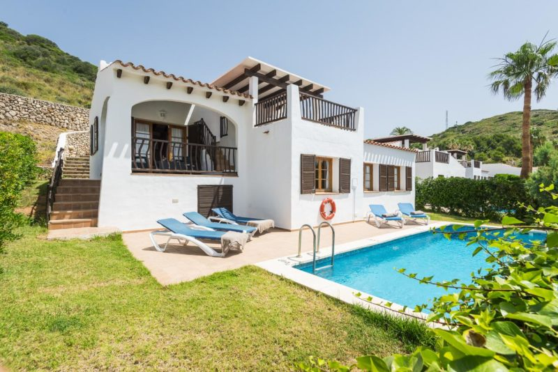 Onde ficar em Menorca: Villas Playas de Fornells.
