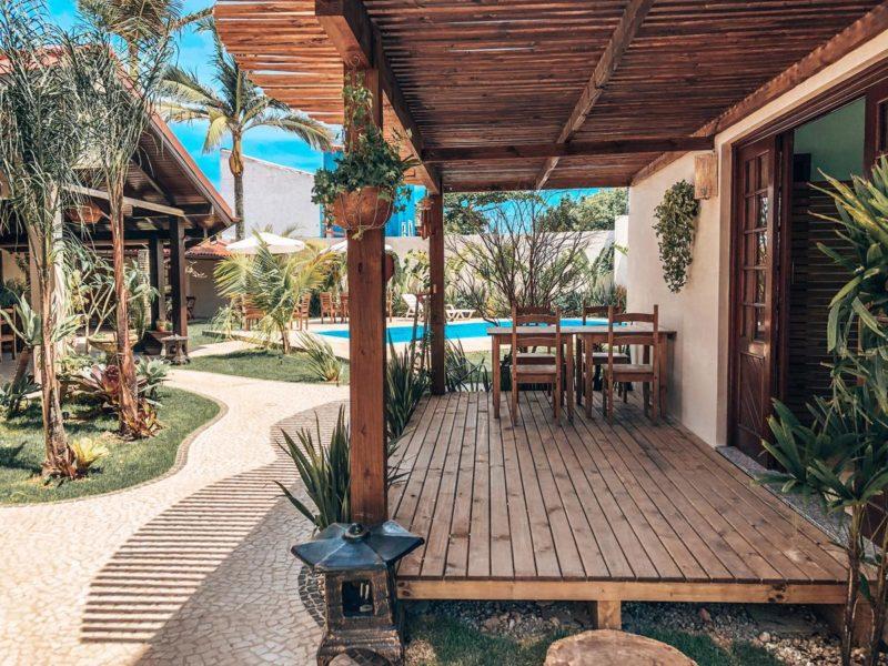 Onde ficar em Florianópolis: Pousada Casa Mar Campeche.