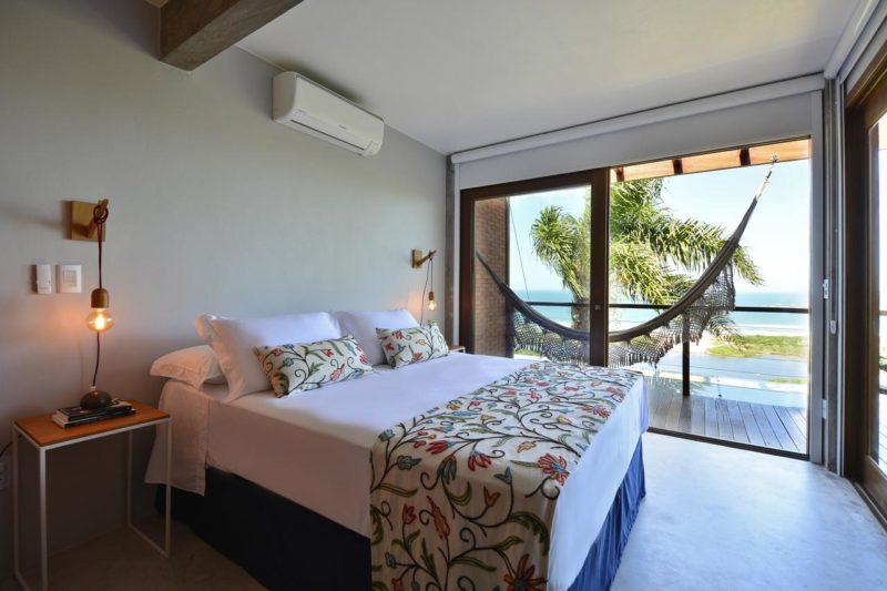 Onde ficar na praia do Rosa: Villa Gardena Suites.