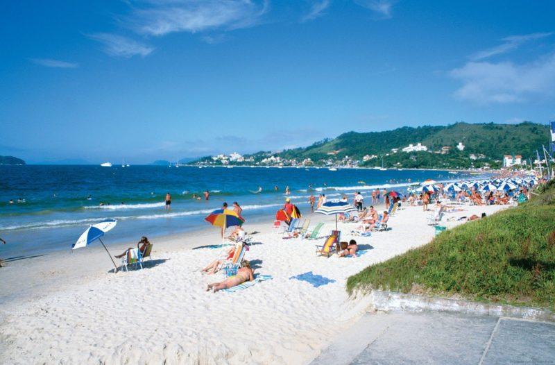 Dicas Floripa: Praia de Jurerê Internacional.
