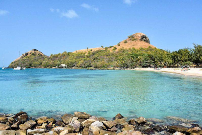 Caribe dicas: Pigeon Island, em St. Lucia.