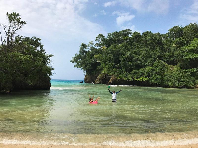 Port Antonio é a região pitoresca da Jamaica.