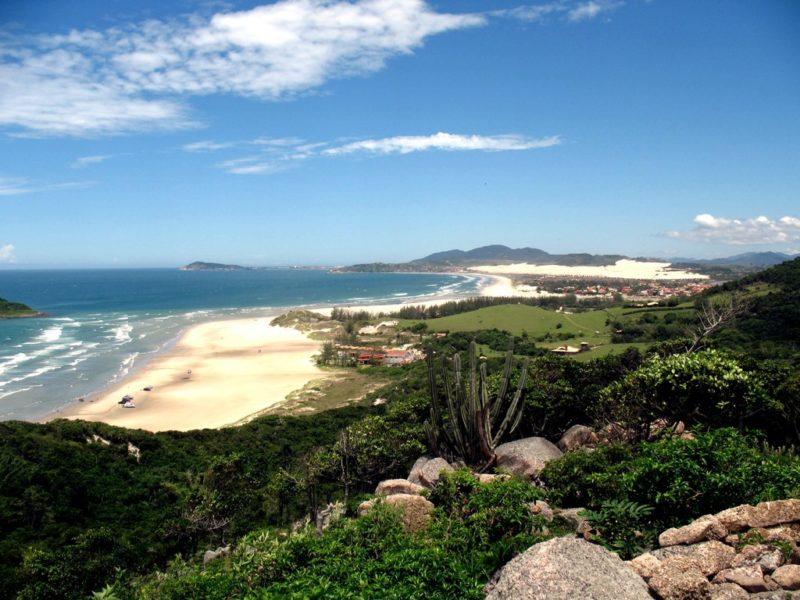O que fazer na Praia do Rosa: Praia da Luz.