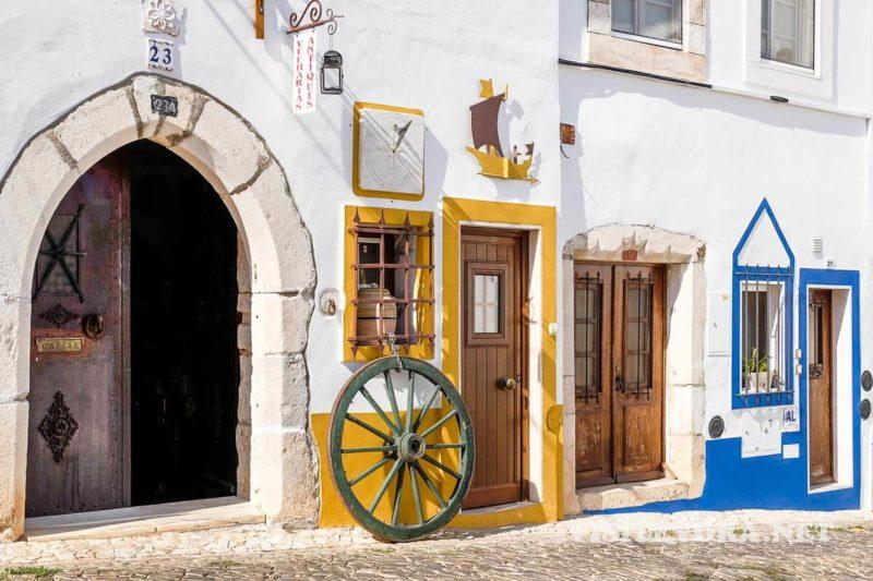 Ruas de Estremoz, em Portugal.