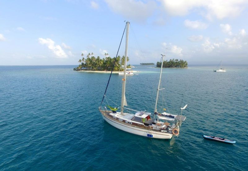 Dicas Caribe: Lyckaribe, barco hotel em San Blas.