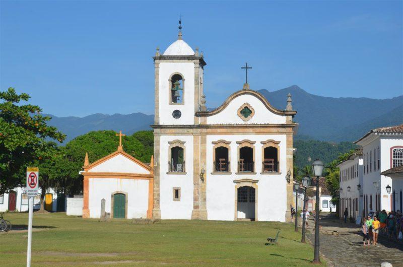 Dicas de Paraty: Igreja de Santa Rita.