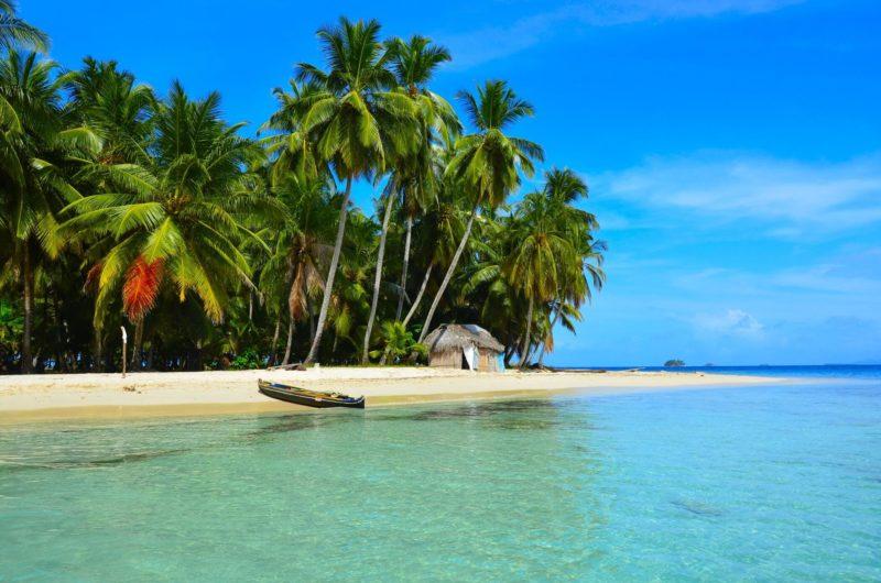 Para onde ir no Caribe em janeiro: praias incríveis de San Blas, no Panamá.