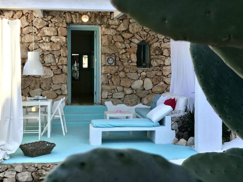 Onde ficar em Lampedusa: Borgo Acqua, com clima de casa mediterrânea