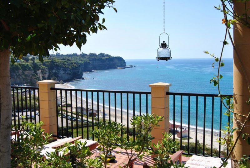onde ficar em Tropea: o Rocca della Senna