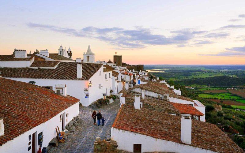Um pouco mais de Monsaraz, em Portugal.
