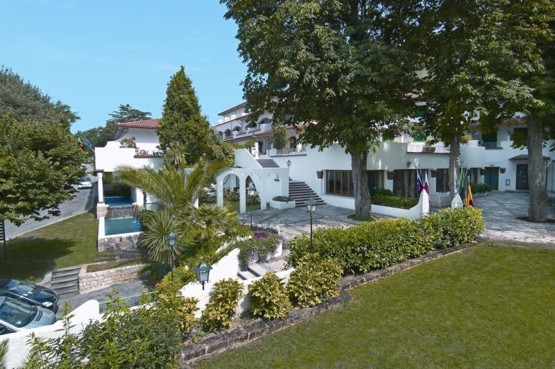 O Sea Bay Hotel, em Ancona
