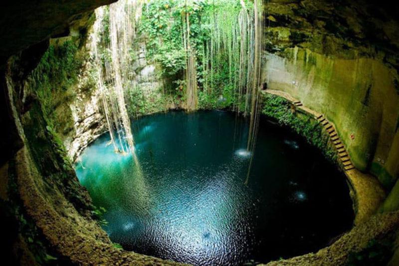roteiro Riviera Maya e Isla Mujeres: visite o cenote Ik kil