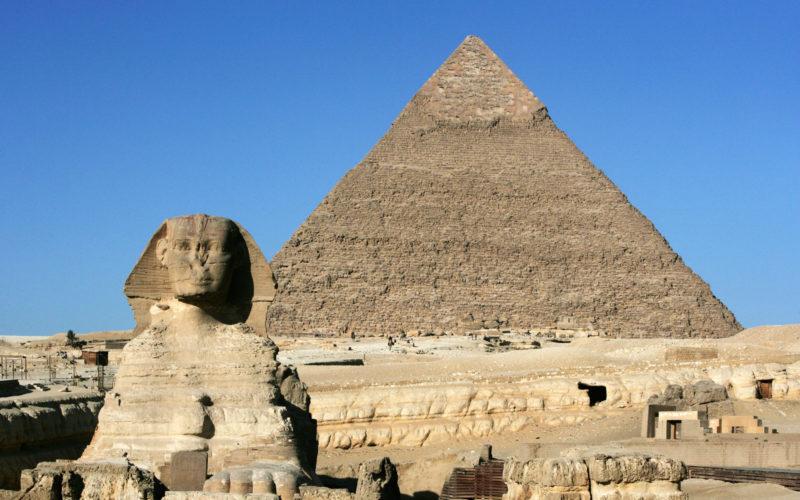 Onde ir em fevereiro: pirâmides de Gizé, no Egito.
