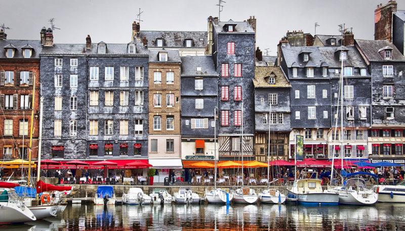 Honfleur cidades do interior da França