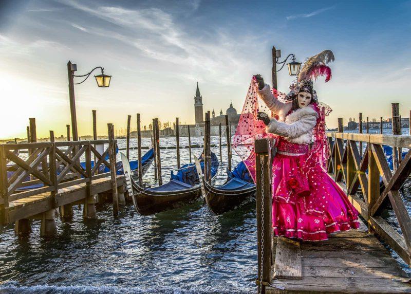 O que fazer em Veneza: Carnaval das máscaras.