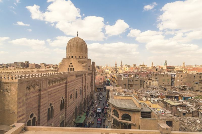 Fevereiro onde ir: cidade do Cairo, no Egito.