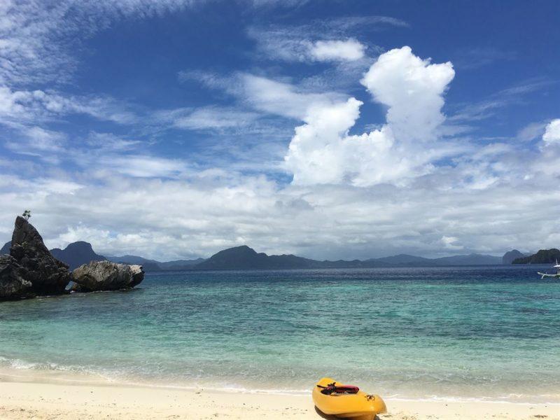 Dicas de viagens em fevereiro: praia de Palawan, nas Filipinas.