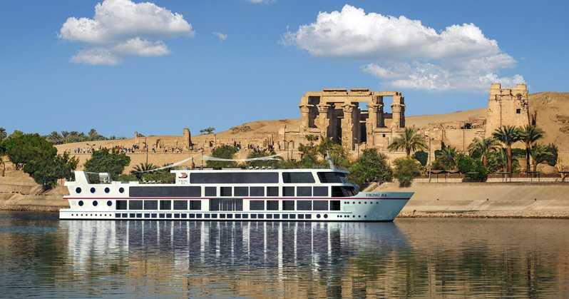 Destinos para ir em fevereiro: cruzeiro pelo rio Nilo, no Egito.