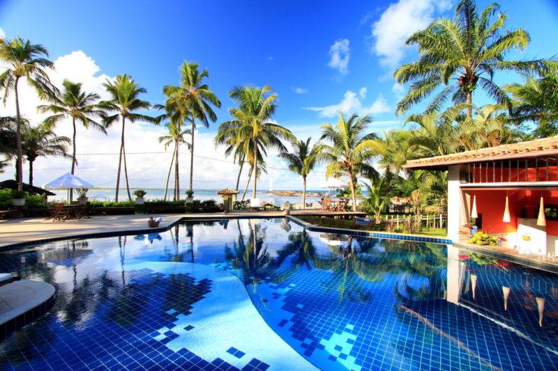 Hotéis em Boipeba: Aldeia do Mar Hotel.