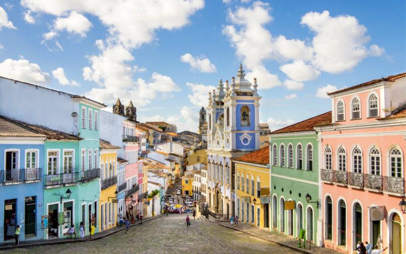 Roteiro Bahia: O colorido do Pelourinho, em Salvador.