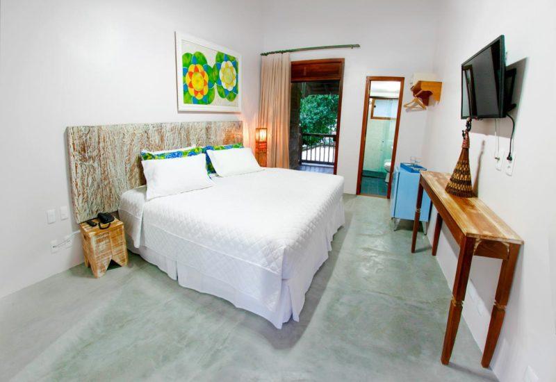 Hotéis em Itacaré: quarto da Pousada Villa Maeva Itacaré.