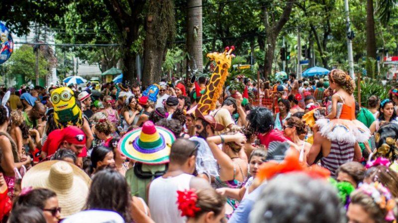 Blocos de rua do Rio de Janeiro.