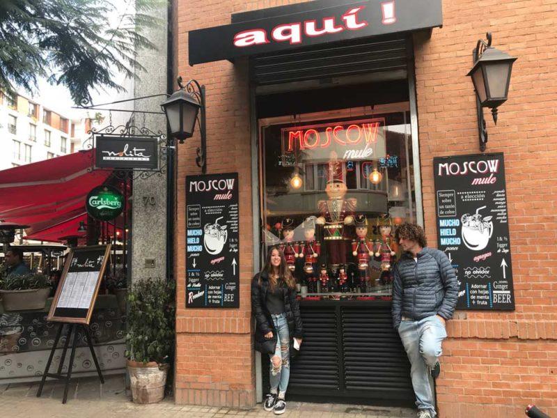 Para onde ir no feriado de novembro: as ruas charmosas de Latarria, em Santiago.
