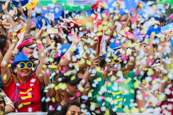 Feriados de fevereiro: carnaval. (Foto: Fernando Maia/Riotur).