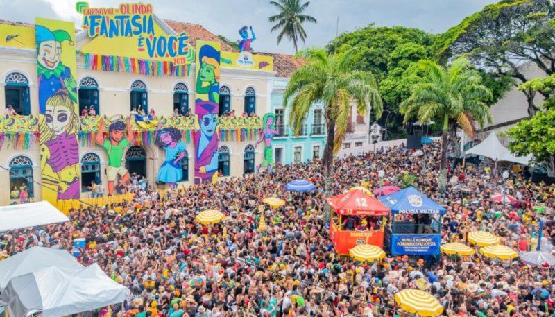 Carnaval de rua de Olinda.
