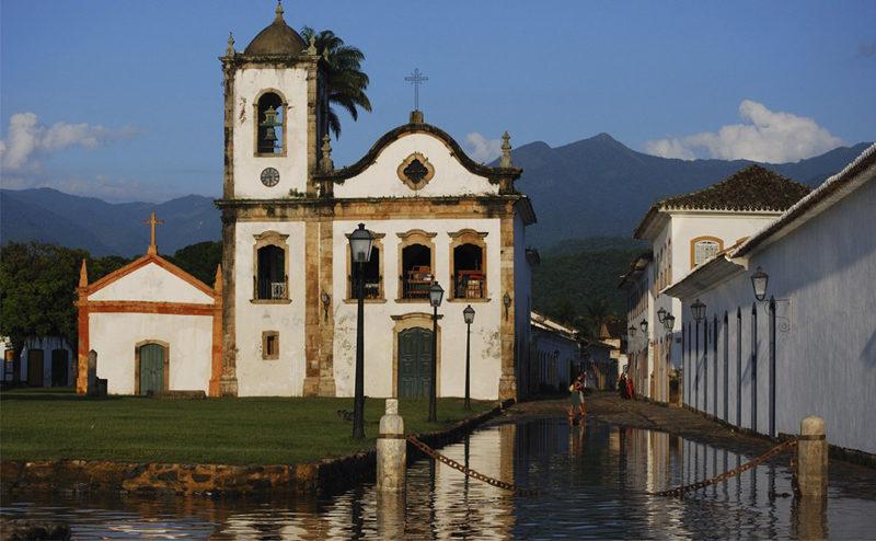 Feriados 2020: Igreja de Santa Rita, em Paraty.