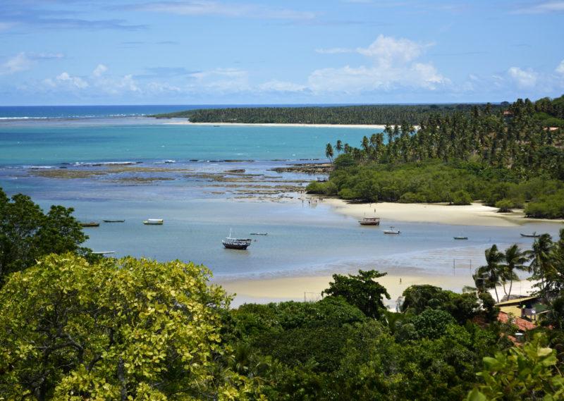 Cidades baianas: a linda praia de Moreré.