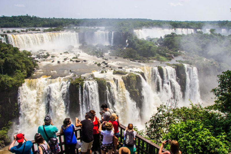 Feriados de abril 2020: as quedas das Cascatas de Foz do Iguaçu.