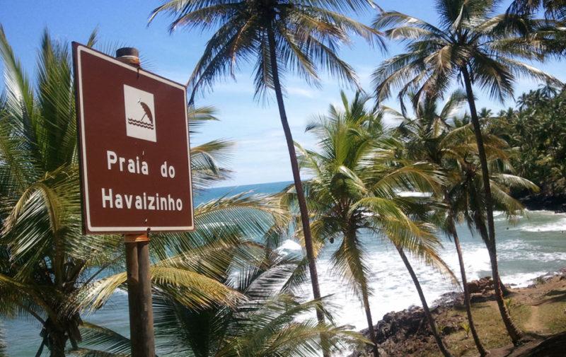 Dicas Itacaré: praia do Havaizinho.