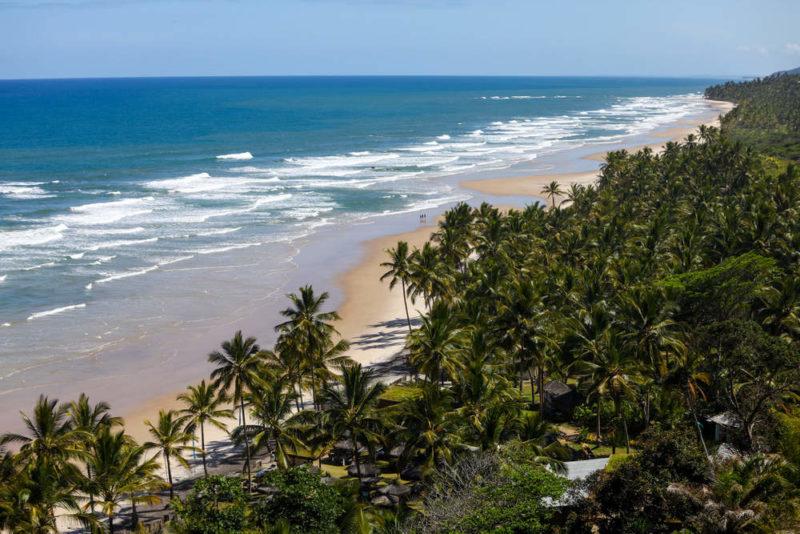 Bahia roteiros: praia do Itacarezinho, em Itacaré.