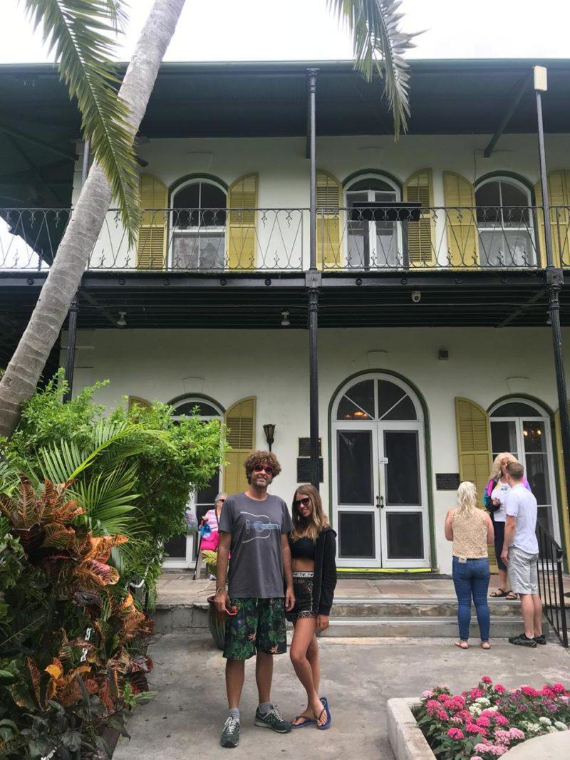 Roteiro Flórida: museu e casa de Ernest Hemingway, em Key West.