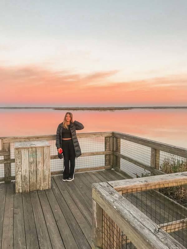O que fazer ma Flórida: pôr-do-sol em Payne Park, Gainesville.