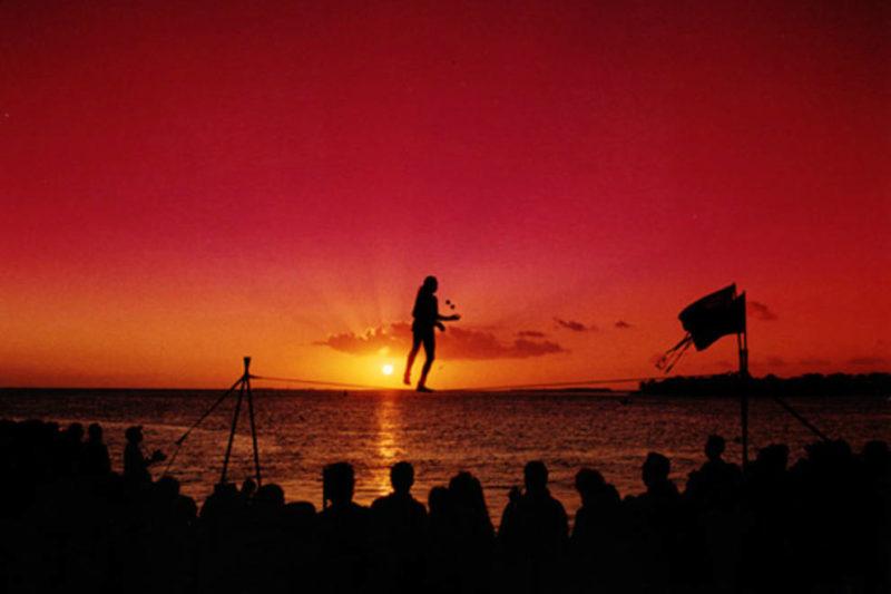 Roteiro Flórida: o visual da Mallory Square, em Key West.