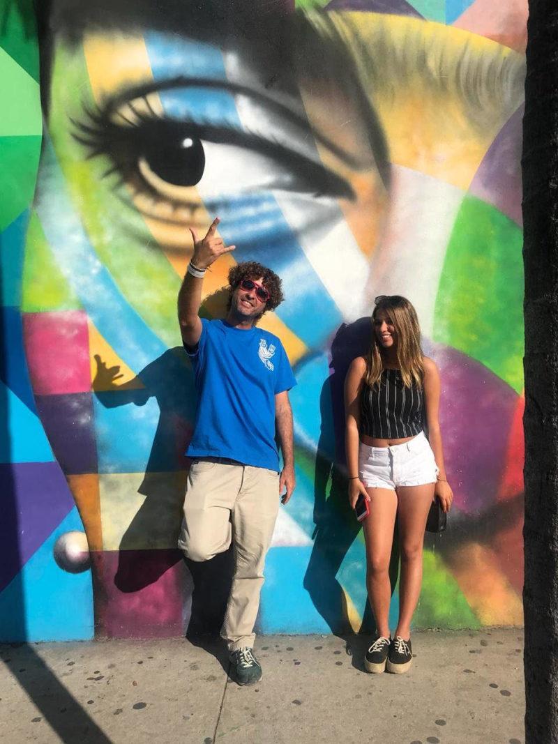 Roteiro Flórida: paredes grafitadas de Wynwood, em Miami.