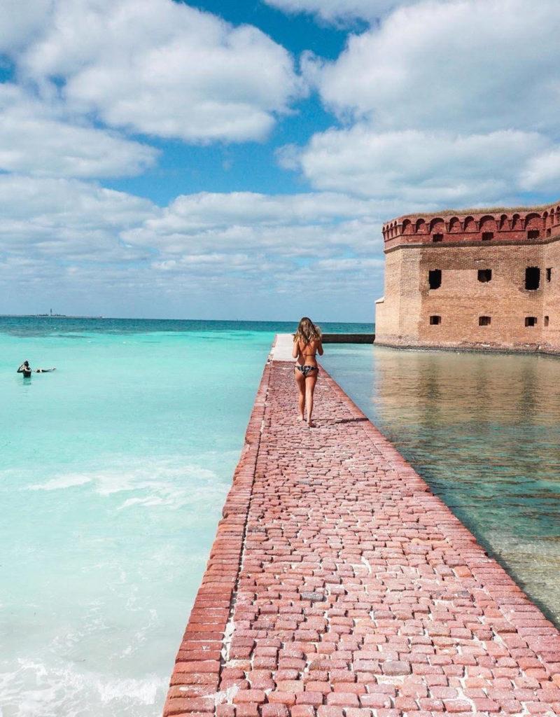 Viagem Flórida: como não se apaixonar pelo mar de Dry Tortugas, em Key West.