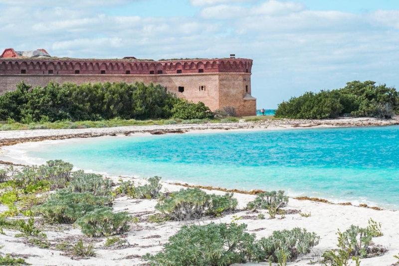 Roteiro Flórida: o forte de Dry Tortuga, em Key West.