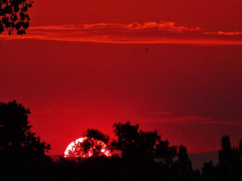 O sol nascendo no Colorado: um pouco de poesia em meio ao isolamento